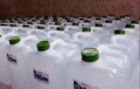 فروش آب مقطر لیتری